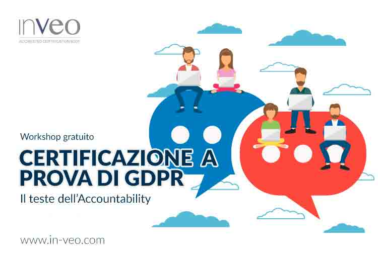workshop gratuito inveo certificazione privacy
